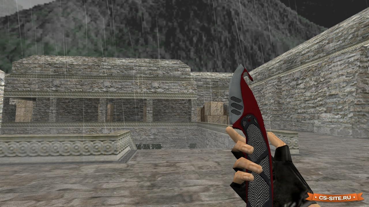 Модель ножа hd «gut knife | autotronic» для cs 1. 6.