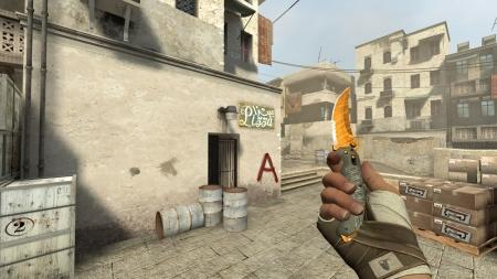 Модель ножа «Flip Knife | Tiger Tooth» для CSS