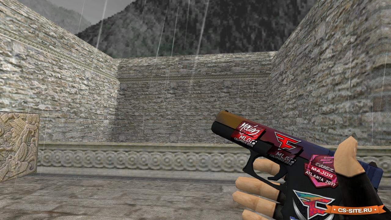Glock 18 fade | counter-strike 1. 6 skin mods.