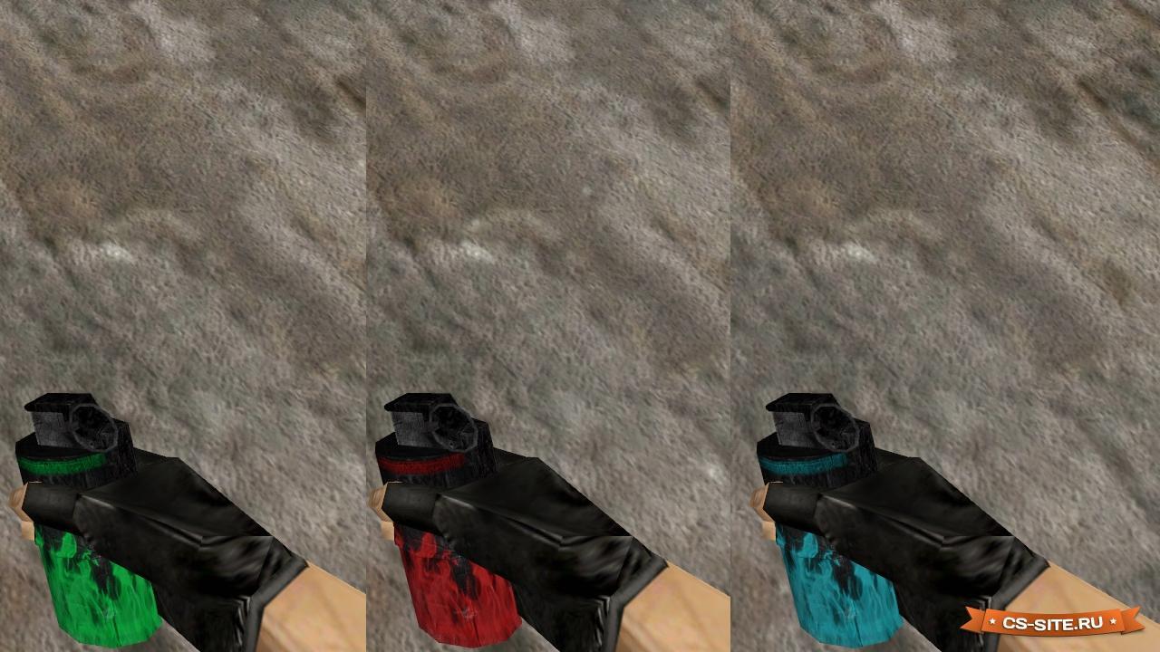 Скачать модели оружия для кс 1. 6 из кс го гранаты.