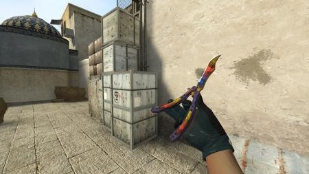 Модель ножа «Butterfly Knife | Marble Fade» для CSS