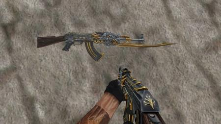 Модель AK-47 «Beast» из Crossfire для CS 1.6