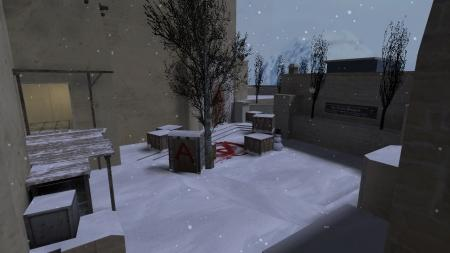 Карта De_Mirage_Winter из CS:GO для CS 1.6