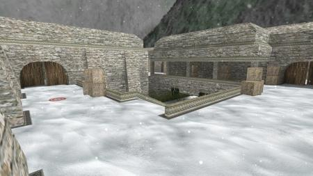 Карта De_Aztec_Winter для CS 1.6