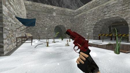 Модель HD R8 Revolver «Crimson Web» для CS 1.6