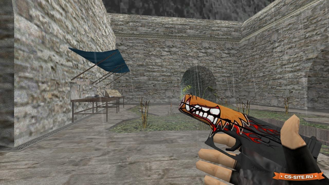 Glock-18 | водяной для counter-strike: source.