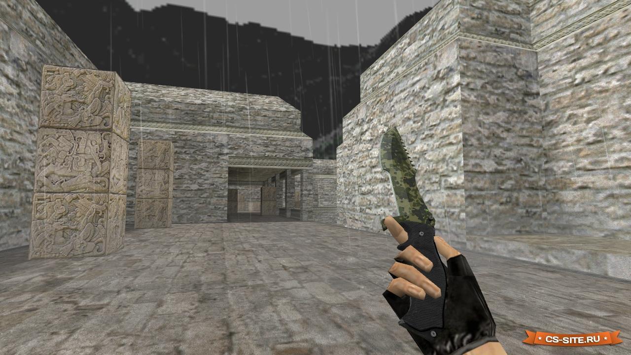 Как поставить нож в левую руку в counter strike 1. 6 youtube.