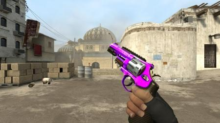 Модель R8 Revolver «Purple Oil» для CSS