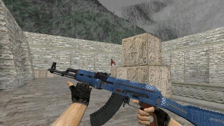 Модель HD AK-47 «Gentleman» для CS 1.6