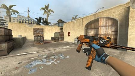 Модель MP9 «Colony 01 Orange» для CSS