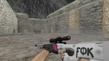 Модель HD AWP «Bloody Pink» для CS 1.6
