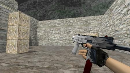 Модель HD MP9 «White Fang» для CS 1.6