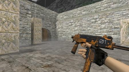 Модель HD MP9 «Colony 01 Orange» для CS 1.6