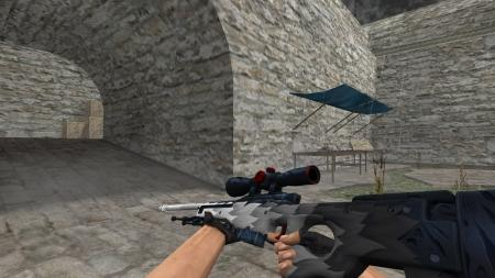 Модель HD AWP «White Fang» для CS 1.6