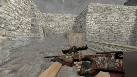 Модель HD AWP «Road Warrior» для CS 1.6