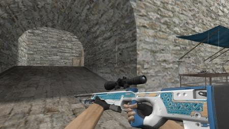 Модель HD AWP «Sea Motive» для CS 1.6