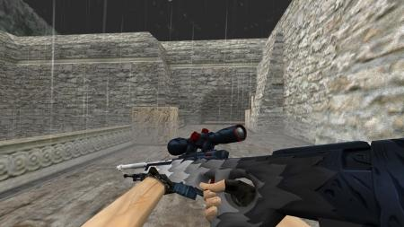 Модель HD AWP «White Fang Remake» для CS 1.6