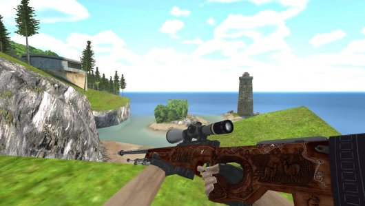 Модель HD AWP «Hunting» для CS 1.6