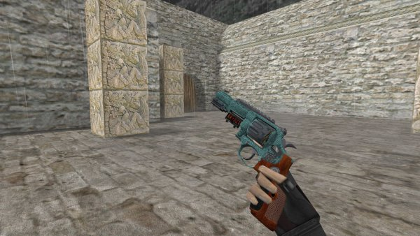 Модель HD R8 Revolver «Bark Beetle» для CS 1.6