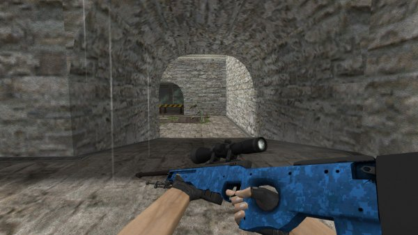 Модель HD AWP «Cobalt Discruption» для CS 1.6