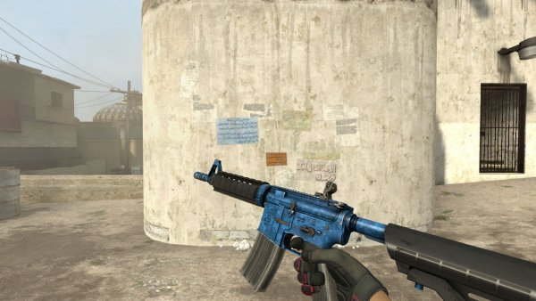 Модель M4A4 «Cobalt Discruption» для CSS