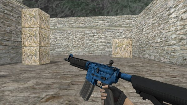Модель HD M4A4 «Cobalt Disruption» для CS 1.6