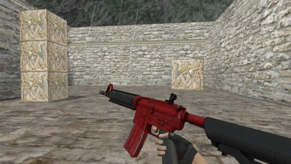 Модель HD M4A4 «Crimson Web» для CS 1.6