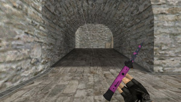 Модель ножа HD «Stiletto | Pink DDpat» для CS 1.6