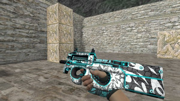 Модель HD P90 «Frontside Misty» для CS 1.6