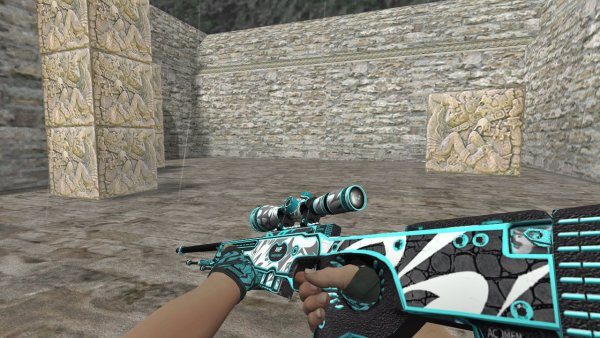 Модель HD AWP «Frontside Misty» для CS 1.6