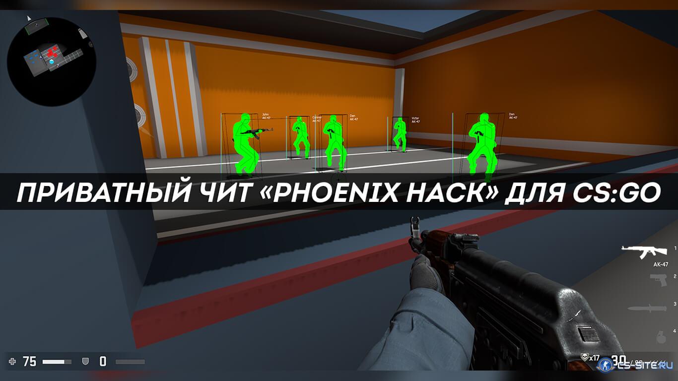 Privatnyj Chit Phoenix Hack Dlya Ks Go